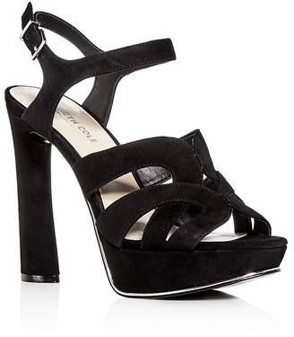 Kenneth Cole Women's Nealie Suede High-Heel Platform Sandals