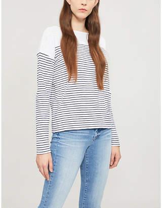 The White Company Striped cotton top