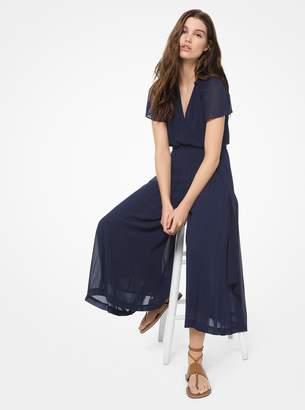 MICHAEL Michael Kors Georgette Wrap Jumpsuit