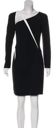 Thierry Mugler Long Sleeve Mini Dress