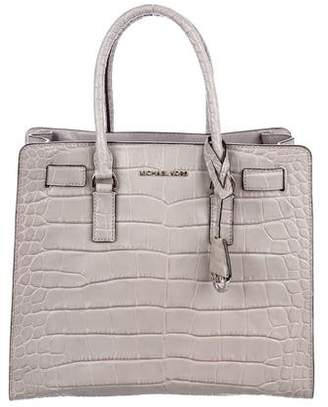 MICHAEL Michael Kors Dillon Embossed Leather Tote