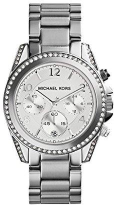 Michael Kors (マイケル コース) - Michael Kors Jet Set Men's & Women's Silver Steel Bracelet & Case Watch MK5165