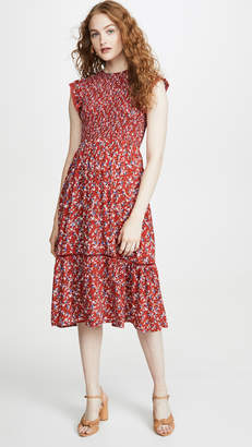 Lost + Wander Pick Me Midi Dress