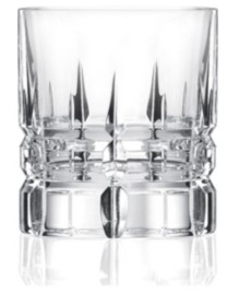 DaVinci Lorren Home Trends Carrara Collection Double Old Fashion Tumbler from the Line- Set of 2