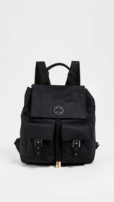 Tory Burch Tilda Nylon Flap Backpack