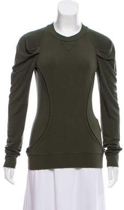 Torn By Ronny Kobo Long Sleeve Mock Neck T-Shirt
