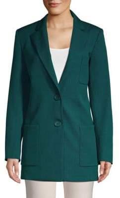 Oscar de la Renta Two-Button Jacket