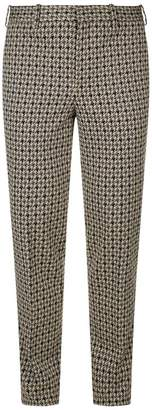 Neil Barrett Houndstooth Tapered Skinny Trousers