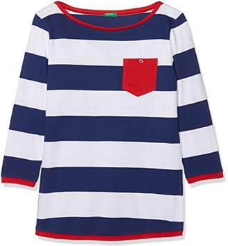 Benetton Girl's Sweater H/s Jumper,(Manufacturer Size: EL)