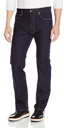 Armani Jeans Men's J31 Regular Straight Fit Jeans in Dark Rinse