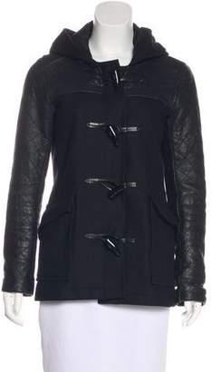 Theory Wool Hooded Jacket