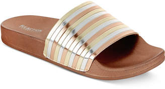 Kenneth Cole Reaction Women's Pool Pipes Pool Slides Women's Shoes