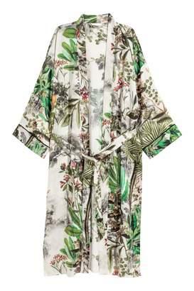 H&M Patterned Kimono - Natural white/patterned - Women