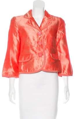 Armani Collezioni Silk Jacquard Jacket