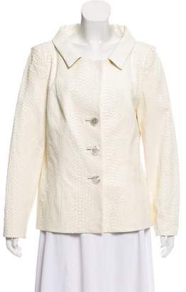 Peggy Jennings Embossed Lightweight Jacket