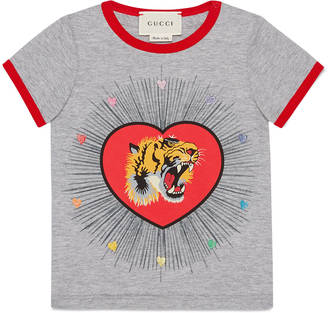 Baby t-shirt with tiger print $145 thestylecure.com