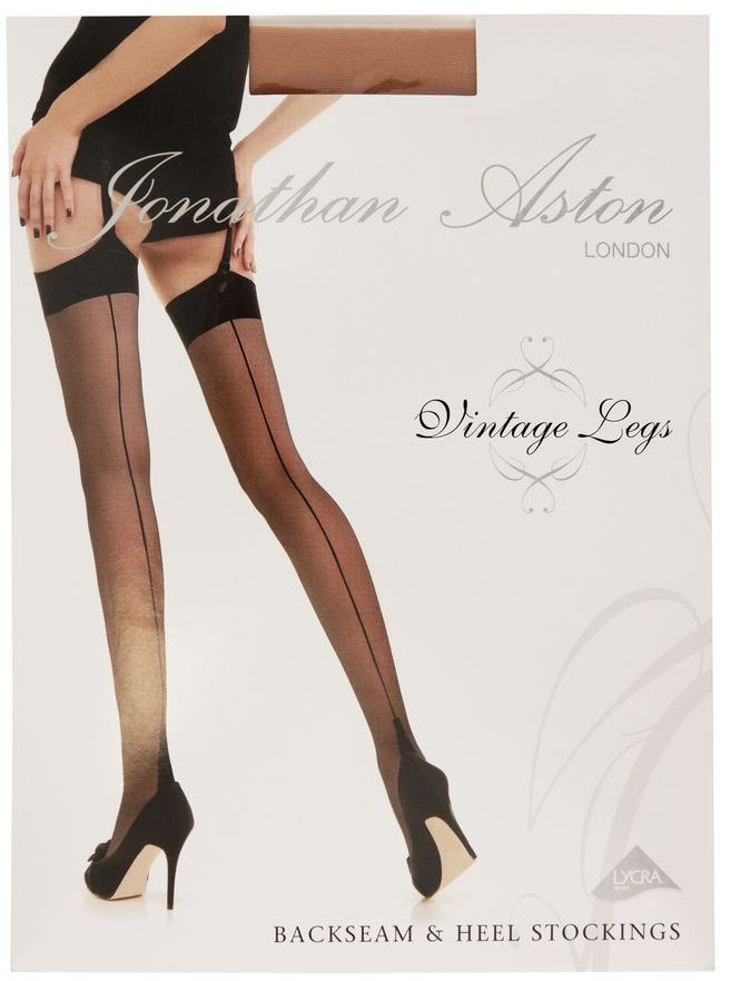 Jonathan Aston 15 denier Lycra Seam & Heel Stockings