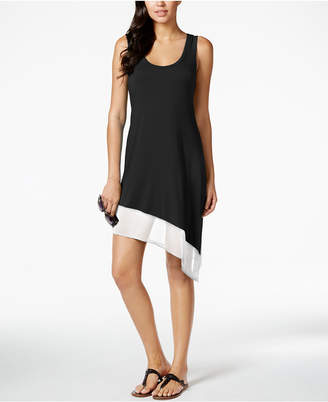 Calvin Klein Asymmetrical Tank Dress Cover Up