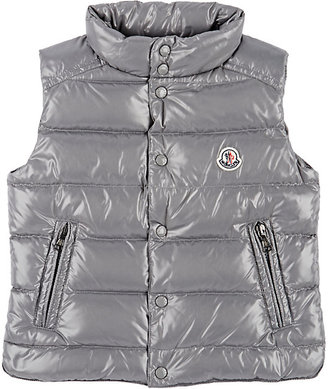 Moncler Down-Quilted Tib Vest-GREY $285 thestylecure.com