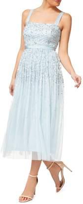 Occasion By Dex Sequin Midi Dress