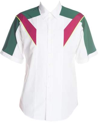 DSQUARED2 Colorblock Button-Down Shirt