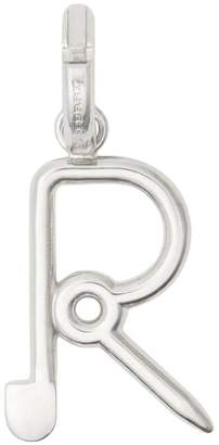 Burberry Kilt Pin 'R' Alphabet Charm