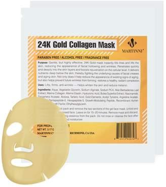 Martinni Beauty 24K Gold Collagen Facial Mask (2 PK)