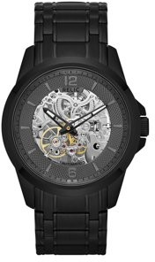 Fossil Relic by Automatic Skeleton Dial Watch