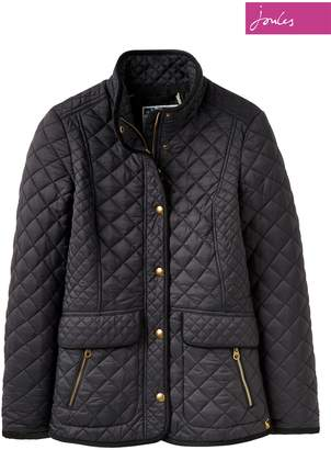 Next Womens Joules Black Quilted Newdale Coat