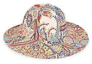 Etro Women's Colorful Paisley Bucket Hat