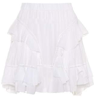 Etoile Isabel Marant Isabel Marant, Étoile Varese cotton-blend miniskirt