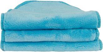Blooming Bath Blooming Bath Baby Washcloth, Printers Blue 7461