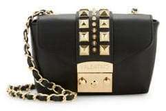 Mario Valentino Paulette Studded Leather Crossbody Bag