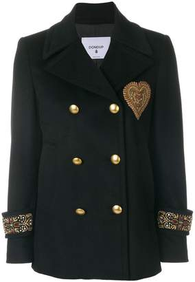 Dondup double breasted military jacket