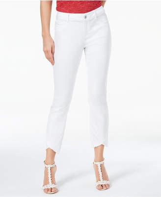 INC International Concepts I.n.c. Cropped Tulip-Hem Jeans