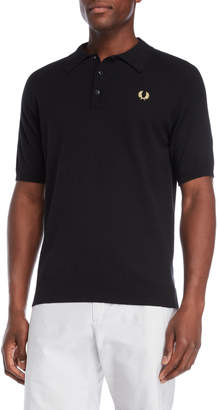 Fred Perry Crest Raglan Knit Polo