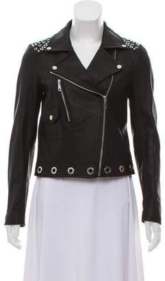 Rebecca Minkoff Embellished Leather Jacket w/ Tags