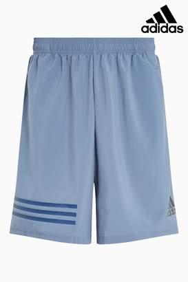 Next Mens adidas Gym Blue 4KRFT Climalite Short