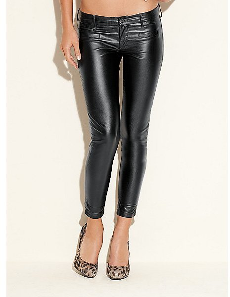 Abbie Faux Leather Pants