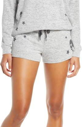 PJ Salvage Stars & Skulls Pajama Shorts