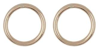 Candela 14K Yellow Gold Circle Stud Earrings