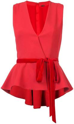 ADAM by Adam Lippes sleeveless peplum top