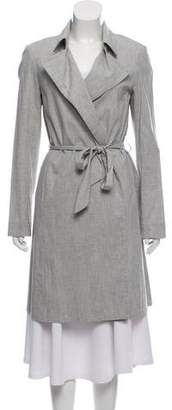 The Row Lightweight Belted Coat