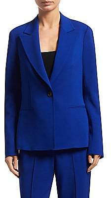 A.L.C. Women's Button-Front Notched Blazer