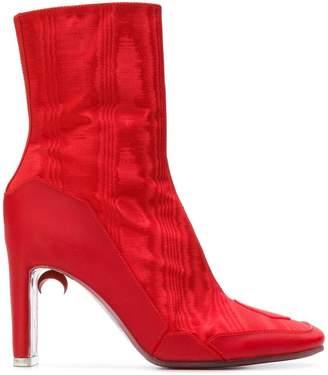 Nicholas Kirkwood x Marine Serre ankle boots