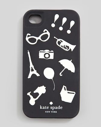 Kate Spade favorite things iPhone 4 jelly case