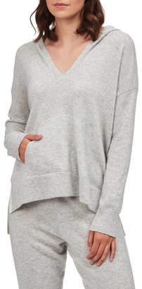The White Company Cashmere Side Stripe Hoodie