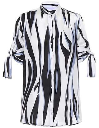 Victoria Beckham Victoria Printed silk top
