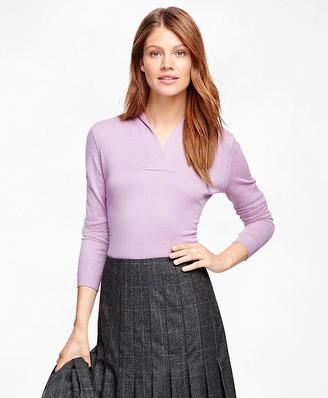 Shawl Collar Sweater $148 thestylecure.com