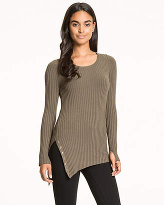 Le Château Viscose Blend Scoop Neck Sweater